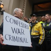 A War Criminal's Welcome for Dick Cheney