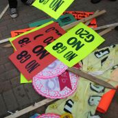 One Arrest On Second Day of G8 Protests UPDATED 12:30 p.m.