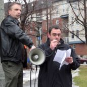 Rally Against Bill C-10 Budget Implementation Act - Saturday
