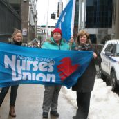 No longer a matter for just the Capital Health nurses represented by NSGEU. The new legislation affects all nurses province-wide. Photo Robert Devet