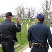 Police surveillance was constantly present