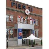 The meeting took place at Pier 21, out of sight for most Haligonians