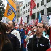 The four health-care unions had hoped that the government would accept their detailed proposal to keep current membership intact and allow unions to bargain collective agreements together. A similar approach using so-called bargaining associations functions well in British Columbia.  Failing bargaining associations, the NSGEU would have liked the ability to at least vote for the union they wish to represent them.  Photo Robert Devet