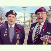 Two veterans from two differnent wars