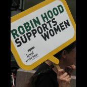 Robin Hood Supports Women