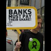 Banks must pay their share!
