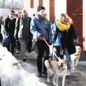 The rally departs from the Halifax North Memorial Public Library