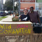 The Wild Combination Sound System provided the soundtrack near Sarah Street.