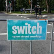 Switch came to Agricola Street on Sunday for the last Open Street Sundays event of 2014.