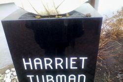 Harriet Tubman Memorial Bust defacement image 2