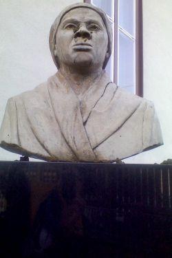 Harriet Tubman Memorial Bust defacement image 3