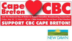 For Immediate Release: Rally to Support CBC Cape Breton