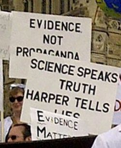Manipulation of science for political ends