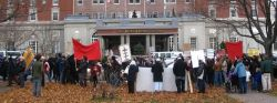 Haligonians demonstrate against ACOA-funded Halifax International Security Conference, November, 2009