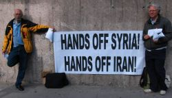 Anti-war pickets, 50… and Counting