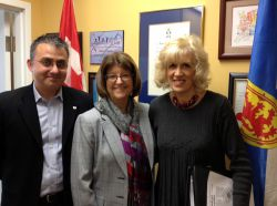 CCL volunteers met with the Finance Minister, Diana Whalen