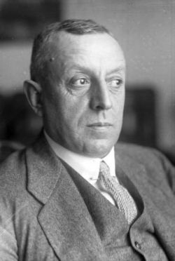 Fritz Thyssen, financier of the German Nazis. Peter MacKay worked for ThyssenKrupp in 1991