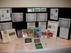 Canadian Centre for Policy Alternatives display
