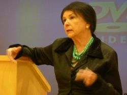 Alanis Obomsawin's presentation at the University of King's College in Halifax