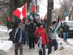 Halifax rallies behind Gaza