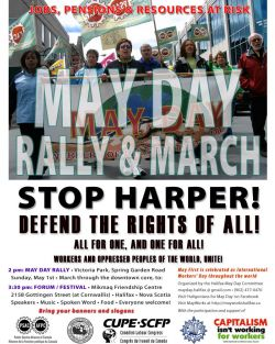 From the May Day poster