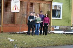 Staff of the Tri-County Women's Centre in Yarmouth have seen housing conditions every bit as bad as those in HRM, and tell the HMC that the problem of rural homeless kids is being ignored by Community Services (Photo: Robert DeVet).