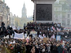 The Politics of Escalation: looking at the British student movement