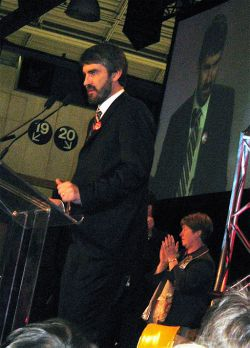 Nova Scotia Liberal leader Stephen McNeil won't confirm that his party commissioned a poll asking whether respondents would support banning health care strikes. (Wikipedia photo)
