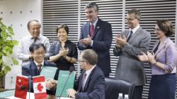 VONNEGUT FICTION MADE REAL BY OUR CHINESE APPOINTED GRAND GOVERNOR STEPHEN MCNEIL