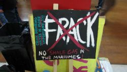 No Fracking in the Maritimes. Photo: Occupy NS