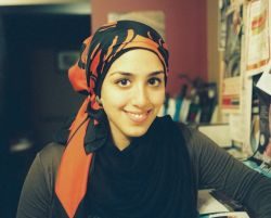 Nour Awad has been wearing the hijab for eight years. They haven't all been easy. [Photo: Nour Awad]