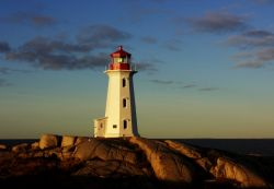 Peggy's Cove Lighthouse. (Photo: Bob Jagendorf via Wikipedia)