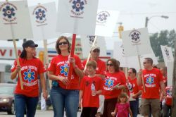 Nova Scotia paramedics rally for a fair contract.