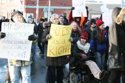 Residents of Halifax are fed up with the state of the city's sidewalks.  Photo: Christopher Majka