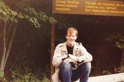 Laura, age 26 , Kejimkujik National Park, 1985