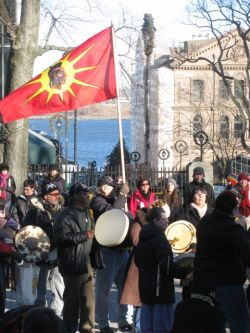 "The Idle No More movement could bring this country ""to its knees if [the government] doesn't smarten up,"" says Mi'kmaq elder Billy Lewis."