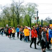 Approximately 380 people took to the streets in Halifax on May 25, 2013. The International March Against Monsanto took place in 52 countries and 436 cities